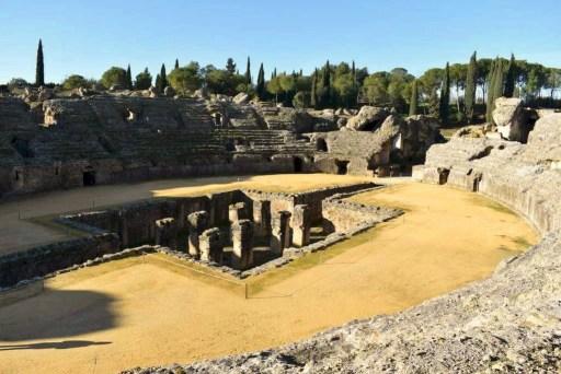 anfiteatro Italica Santiponce