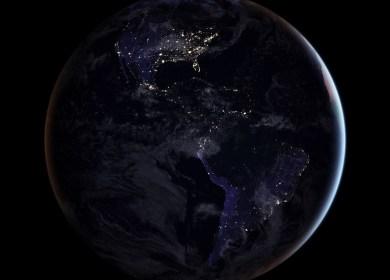 NASA Rilis Foto Resolusi Tinggi Terlengkap Bumi di Malam Hari