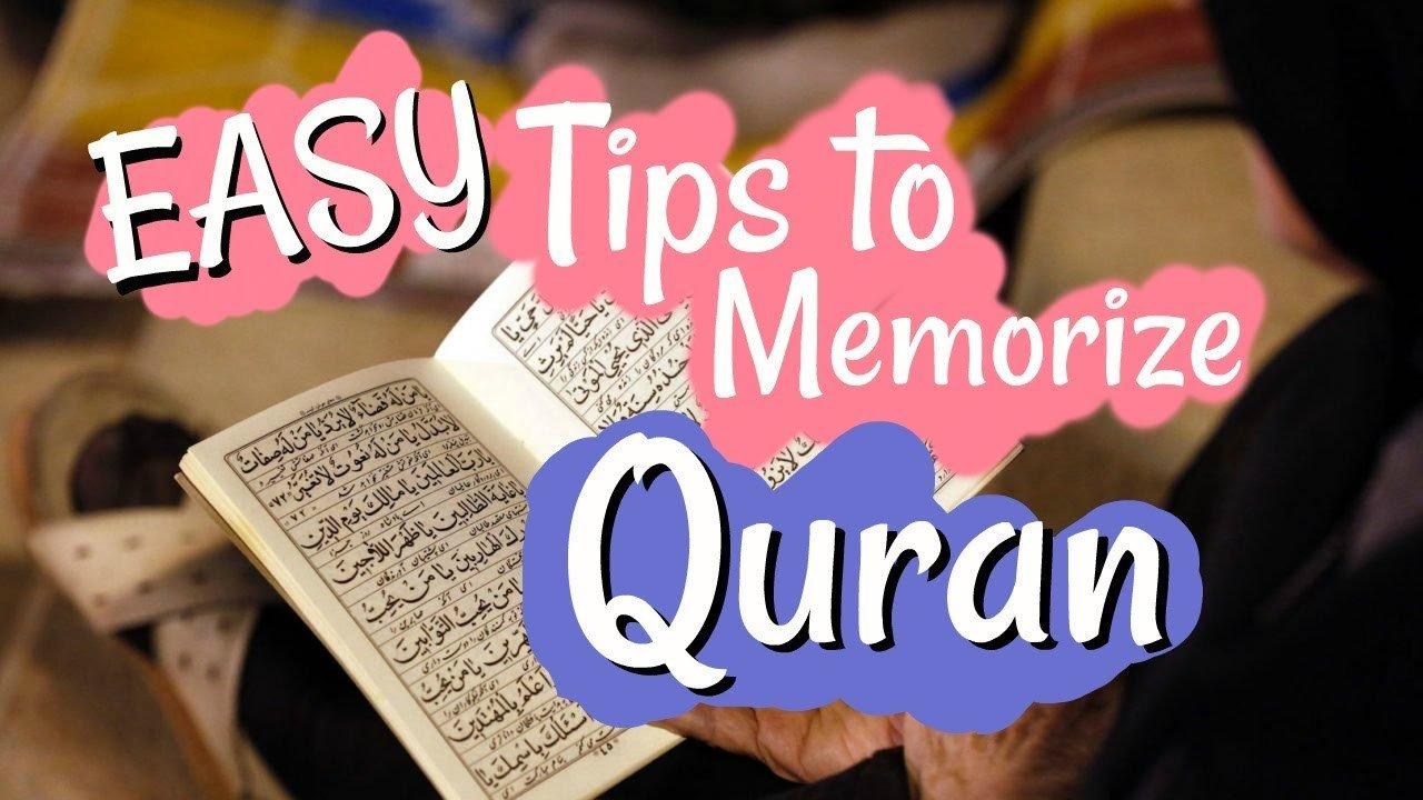 Easy Tips Of Memorizing Quran Online Live