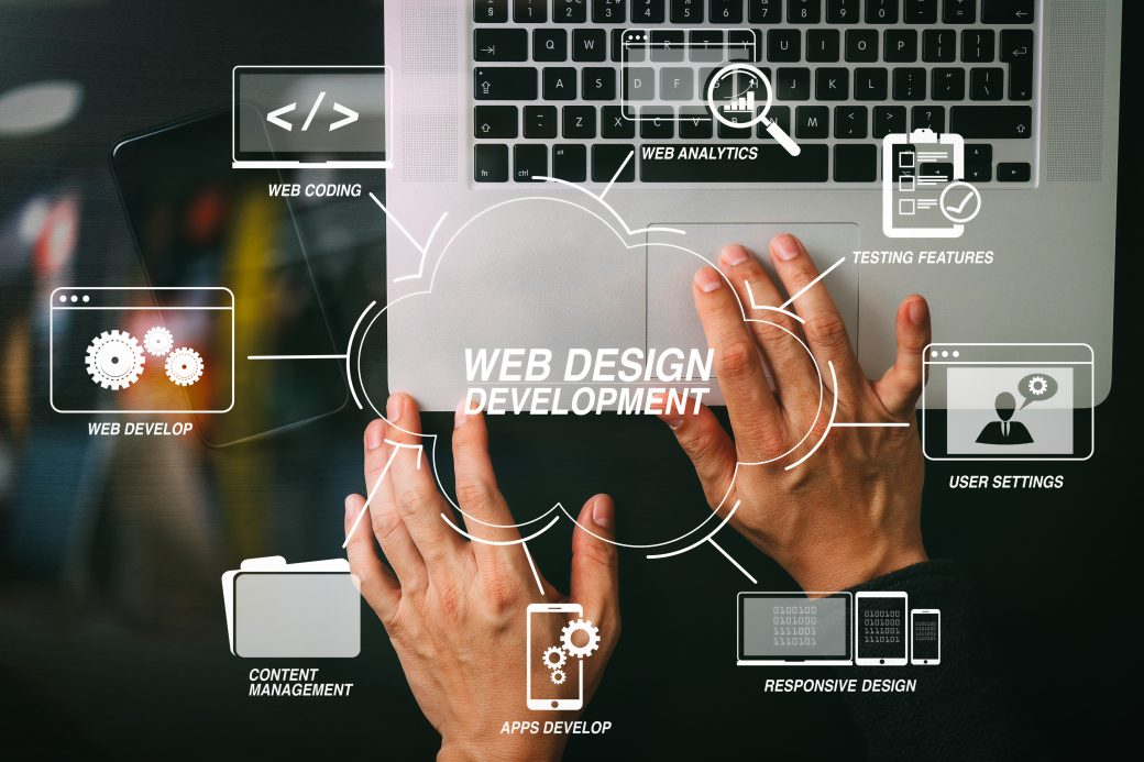RI Web development and design