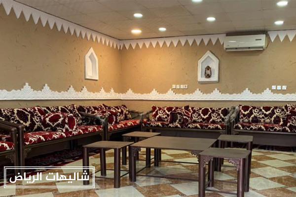 شاليهات البدر حي نمار بقسمين للرجال والنساء للاحتفالات