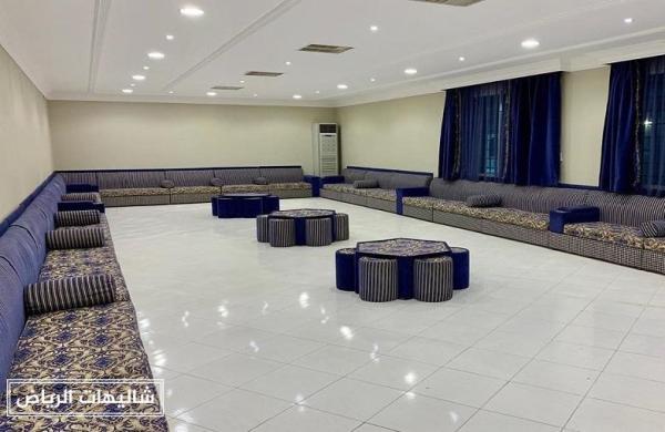 شاليهات السحاب حي القادسية مساحات واسعة تستقبل حفلات زفاف
