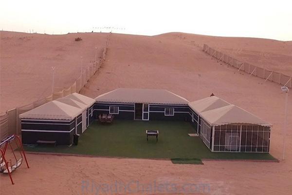 افضل شاليهات شرق الرياض ،مميزات شاليهات الفارس حي الرمال