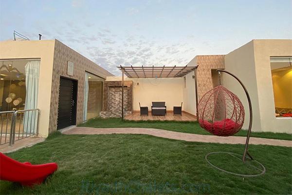 حديقة شاليهات سيدرا الرياض