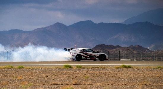 Nissan GT-R Breaks Guinness World Record for Fastest Drift (1)