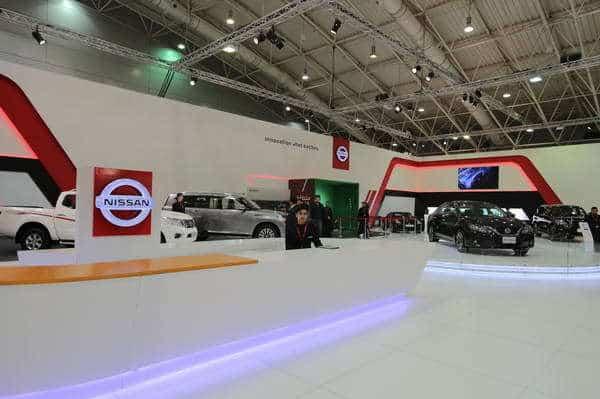نيسان تستعرض المجموعة الكاملة لسياراتها في معرض الرياض للسيارات 2016