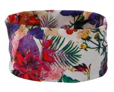 Floral Print Head Band AED 12