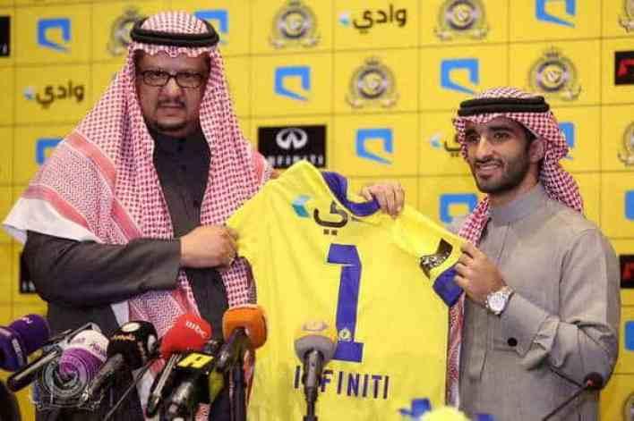 مؤسسة الغسان للسيارات توقع عقد رعاية مع نادي النصر