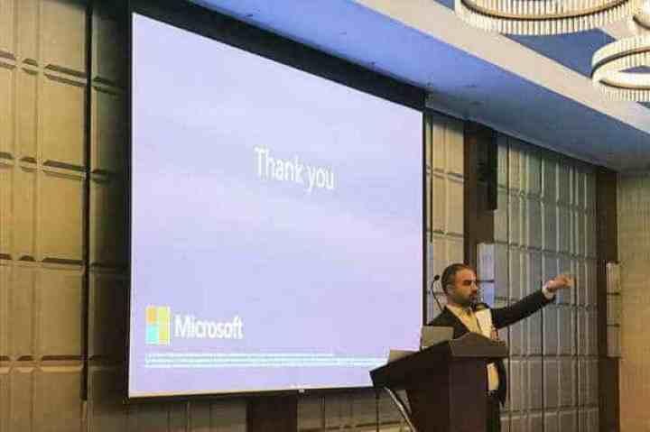 مايكروسوفت العربية تقيم ورشة عمل للتوعية بالأمن الإلكتروني