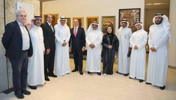 """السفير الإيطالي يفتتح معرض """" ايطاليا بعيون الفنانين العرب"""" بجاليري ديزاين"""