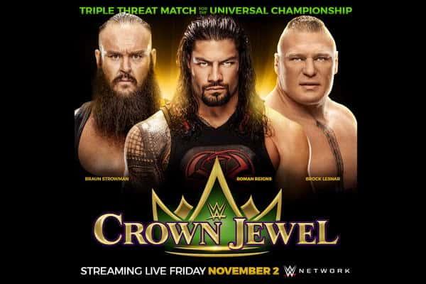 WWE Crown Jewel يوم 2 نوفمبر في المملكة العربية السعودية