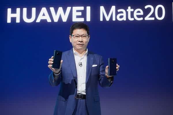 Richard Yu, CEO of Huawei Consumer BG