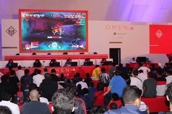 """"""" OMEN"""" من HP ترتقي باللاعبين إلى مستويات خلال Gamerscon الشرقية 2019"""