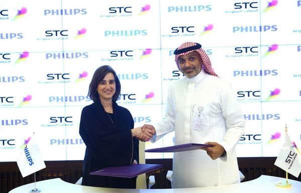 STC وفيليبس تبرمان شراكة استراتيجية لتوفير خدمات الرعاية الصحيّة عن بُعد
