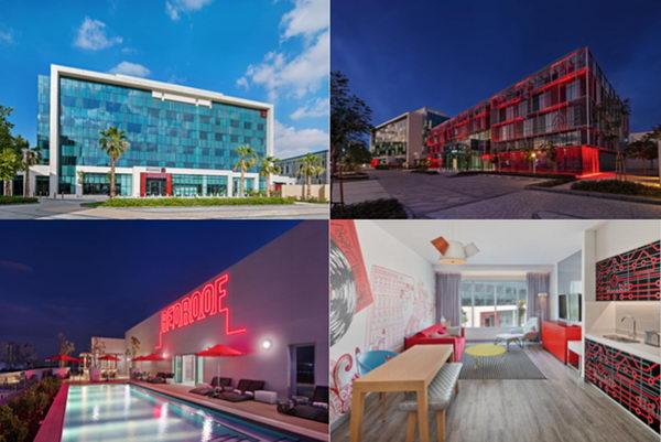 """افتتاح فندق """"راديسون رِد"""" في الشرق الأوسط في مجمع دبي    الرقمي"""