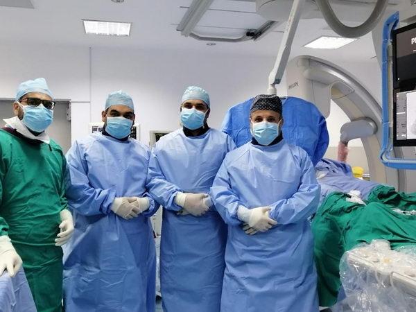 """""""وحدة القسطرة الدماغية التخصصية """" في المستشفى السعودي الألماني بالریاض تنقذ مريضاً سعودياً من الشلل التام"""