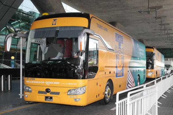 """شركة """"يوتونغ"""" الصينية لتصنيع الحافلات تتعاون مع شركة """"مواصلات"""" القطرية من أجل خدمة كأس العالم للأندية بقطر 2020"""