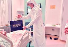 الركن السويسري يزور مرضى السرطان ويهديهم 30ساعة