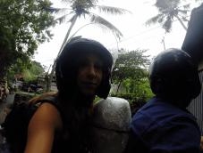 Sur la route pour Ubud (Indonésie)