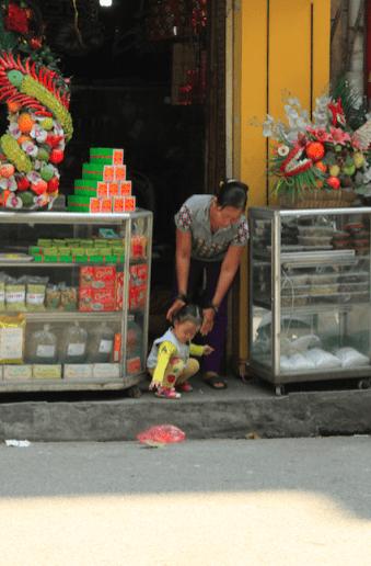 Instants de vie dans la rue
