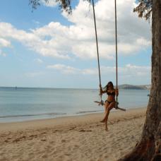 Plage paradisiaque de Thaïlande Bang Tao
