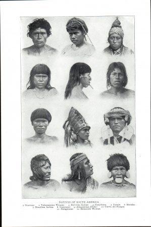 Natives of South America (oeuvre du domaine public aux USA où elle a été publié avant le 1er janvier 1923)