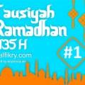 Tausiyah ramadhan 1435 H