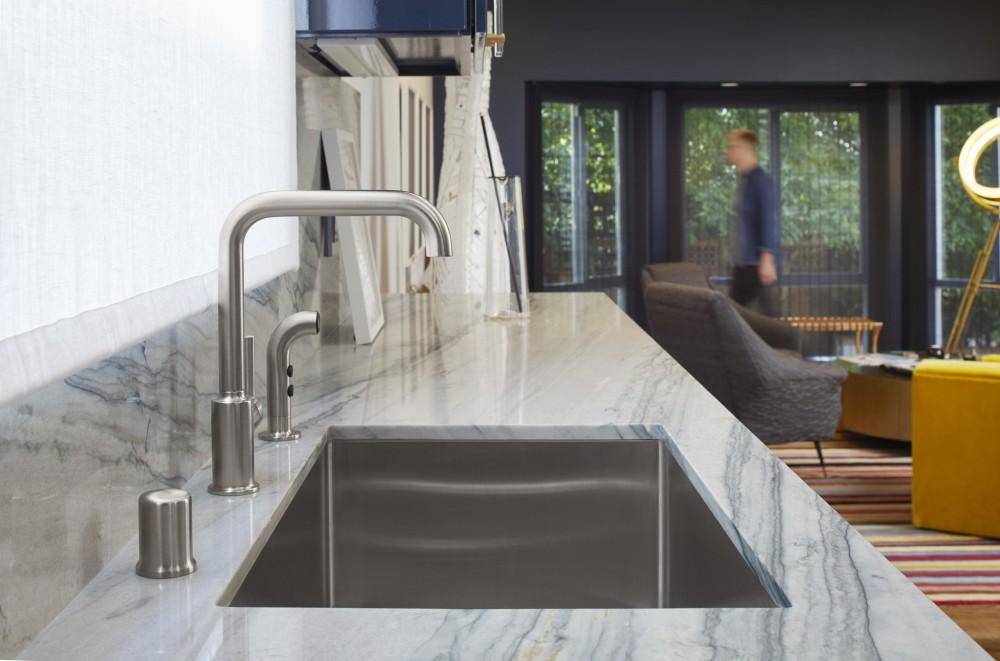 Kran Air Untuk Sink Dapur Stainless Steel Dari Kohler