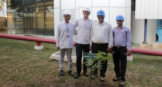 190828 Pune Tree Plantation - Joost dHooghe Uday