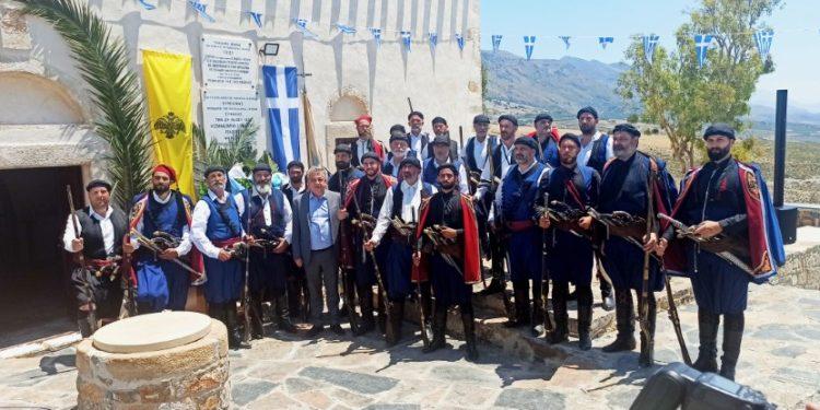 Στην Παναγία τη Θυμιανή η επίσημη εκδήλωση για την Επέτειο των 200 χρόνων από την Ελληνική Επανάσταση( VIDEO ME ΑΠΟΔΟΣΗ ΡΙΖΙΤΙΚΟΥ)