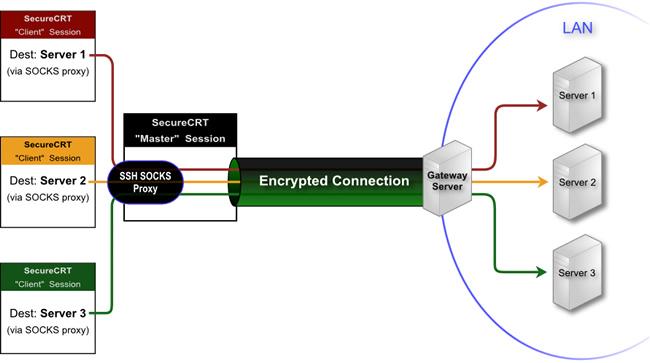 Melakukan Koneksi SSH via Socks Proxy | Rizky Pratama