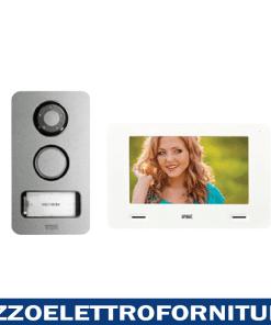 Kit Mini Note+ videocitofonico monofamiliare 2 fili con cxModo e Mikra