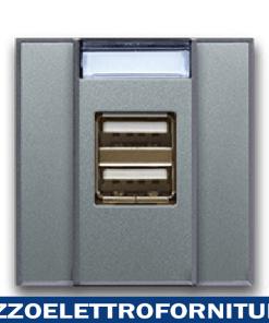 CARICATORE USB UNIV. 2,1A ALLUM. 2M