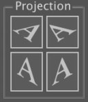 AxoTools Projection buttons
