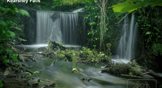 Waterfal, Nature, Trees