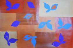 Matisse Inspired Leaves.