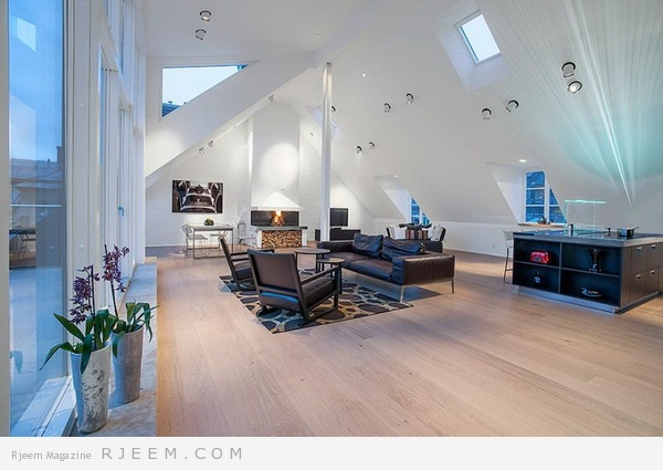 No Ordinary Attic Apartment Stockholm Penthouse by Sotheby's 04