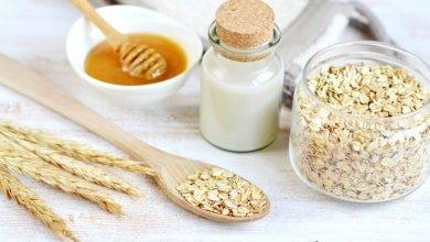 صورة العسل والشوفان لزيادة الوزن وعلاج النحافة
