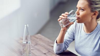 صورة الأضرار الناتجة عن نقص شرب الماء