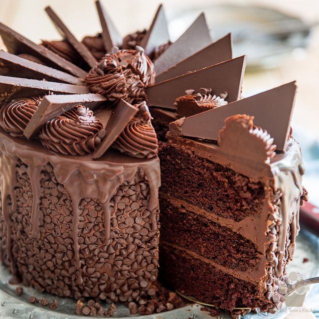 For the real hard core chocolate lovers this wicked windmill chocolate cake is a true masterpiece thats guaranteed to wow your guests