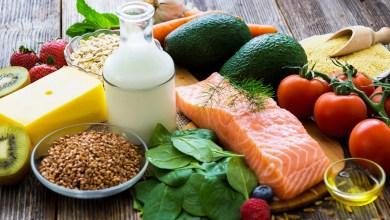 صورة معلومات عن الغذاء المتوازن , مكونات الغذاء المتوازن