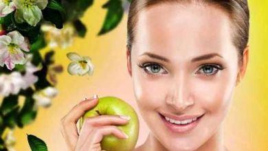 صورة فوائد التفاح الأخضر للبشرة