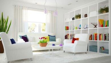 صورة أروع 11 فكرة لديكور غرف المعيشة سهلة وعملية