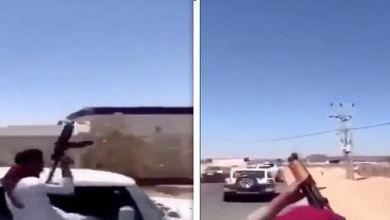 صورة تطورات القبض على 13 مواطن بعد إطلاقهم طلق ناري رشاش في منطقة الليث