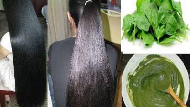 صورة 4 وصفات من السبانخ لنمو الشعر