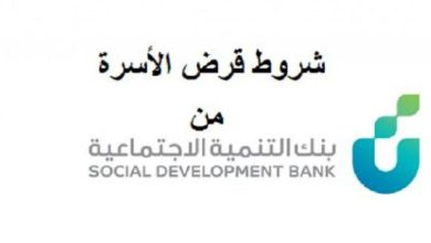 Photo of بنك التسليف قرض الأسرة استعلام