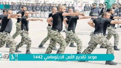 صورة رابط التقديم في وظائف الأمن الدبلوماسي 1442 أبشر