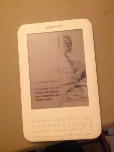 My first kindle. Broken now but still loved.