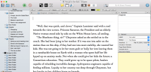 My latest work in progress started as a novel, then I decided it would work as a serial. With Scrivener the switch was easy.