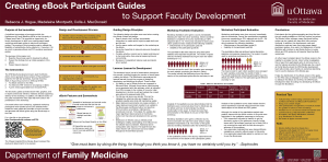 Creating eBooks to Support Faculty Development